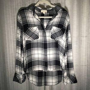 NWOT CLOTH & STONE plaid button down